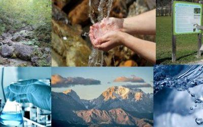 Terenska predstavitev rezultatov analize izbranih vodnih izvirov v občinah Preddvor in Jezersko, 9.10.2020