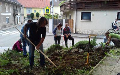 Urejali smo zelene javne površine v Preddvoru